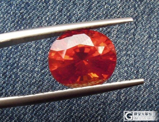 少有的橘红色黑松石榴石_石榴石刻面宝石