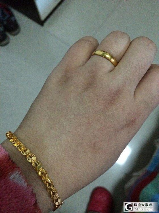 新年新手链新戒指外加大合照外加潘朵拉加乱入_手镯手链戒指金