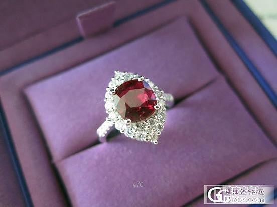 红宝闪闪_刻面宝石设计红宝石