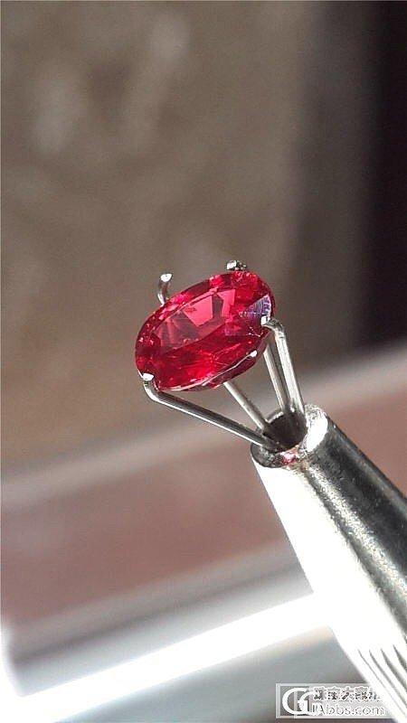 这几颗红宝石,能看出哪颗烧过么_红宝石刻面宝石