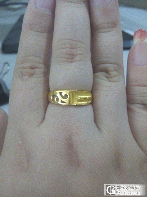 一个很爷们儿的戒指_戒指金