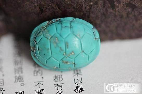 松石背云乌龟_宝石
