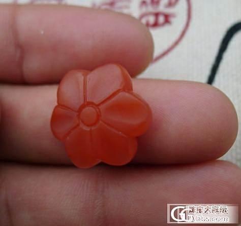 【已结缘】特价 88元 南红小花_传统玉石