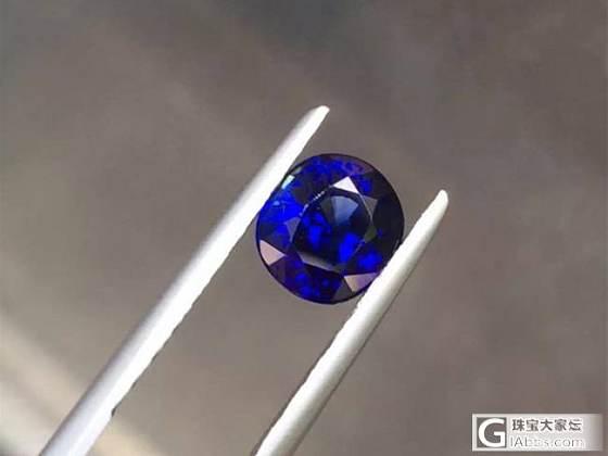 【6.29日2.08克拉皇家蓝Royal Blue蓝宝石】_泰勒珠宝