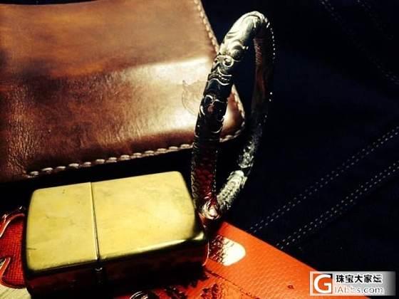 男人的圆条_手镯银
