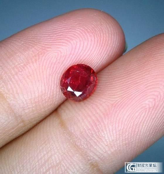 新年第一贴看不懂的价格出一个鸽子血色无烧红宝石_宝石