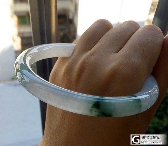 新入手的几个手镯手链,大家看看如何_手镯翡翠