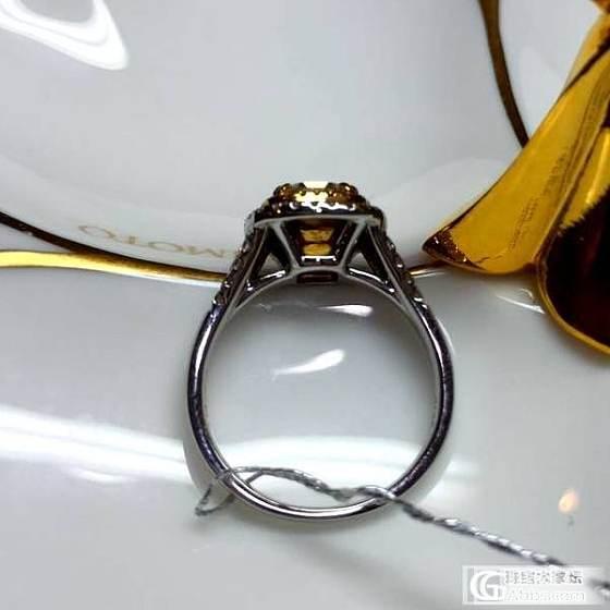 <尼诺钻石>2015/02/25 每日特惠 黄钻1.04克拉成品_钻石