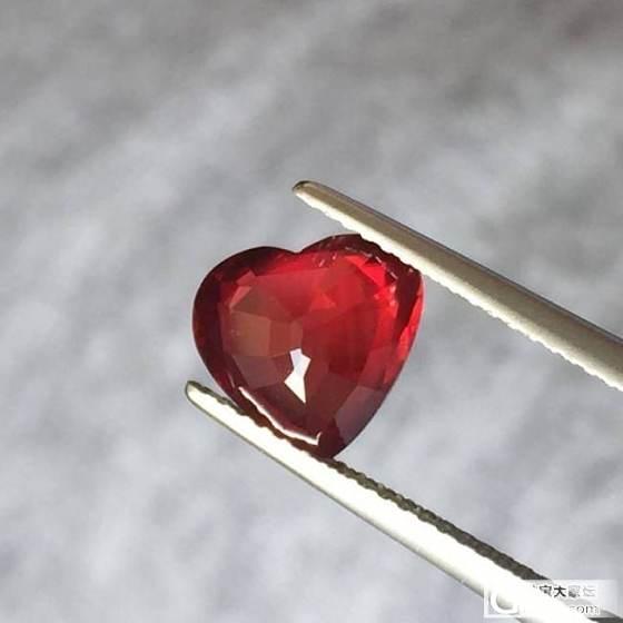 天然 无烧 鸽血红 红宝石 带Grs证书 3.03克拉 收藏级_珠宝