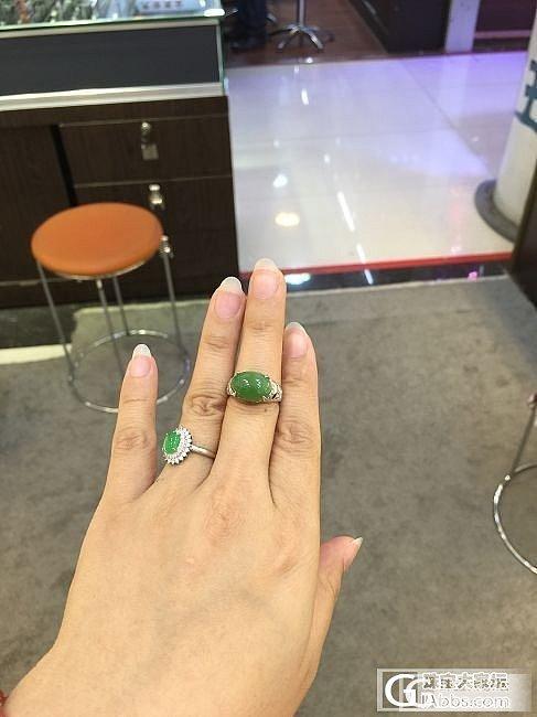 母亲节特惠!碧玉戒指280/个,经典款式,大气!_传统玉石