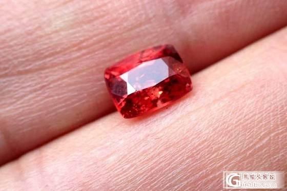 2颗红尖晶石_尖晶石刻面宝石