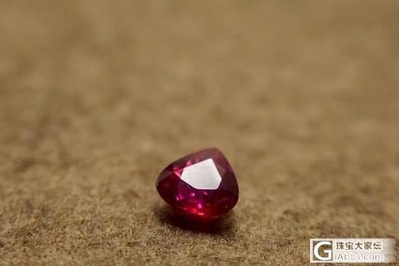 红宝石0.97克拉无烧_名贵宝石