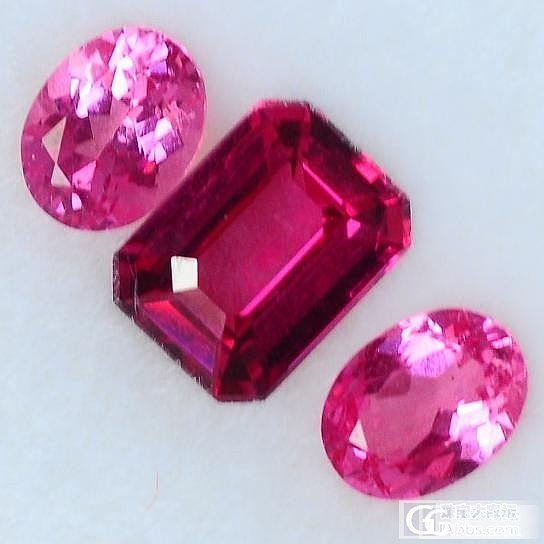 自己配的尖晶石三石戒指_尖晶石刻面宝石