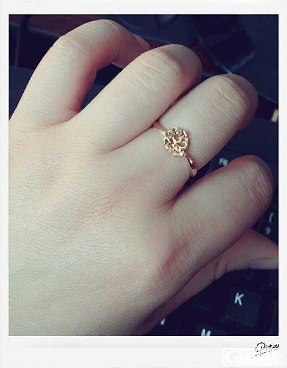 正月初七买的小戒指_戒指金