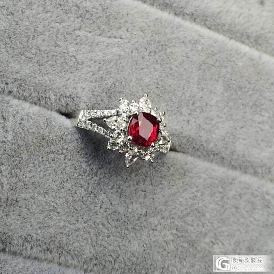 受欢迎的枕形鸽血红_戒指红宝石