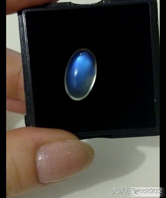 【小白求教】介种月光石是奶油的还是玻璃的?_月光石刻面宝石