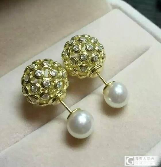 送给自己母亲节的礼物_耳饰珍珠