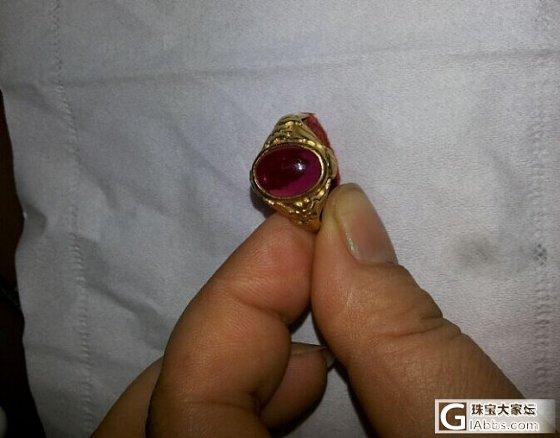 看看我买了20年的戒指_闲聊