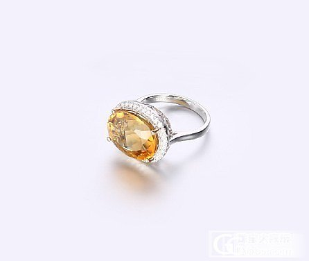 一位韦博英语的老师送给自己的礼物,她很喜欢_刻面宝石黄水晶