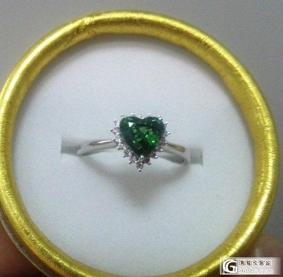 第一次镶嵌,心形戒指_华欣珠宝镶嵌