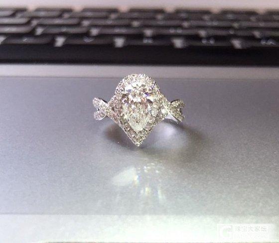 刚做好的60分钻戒,你那么美,大家造吗?_钻石