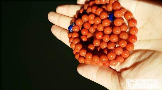 南红九口满色满肉柿子红.收藏级7mm 108颗手串_玛瑙