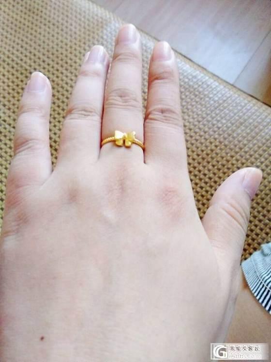 细细的麻花戒指,被吐槽太小家子气_戒指金