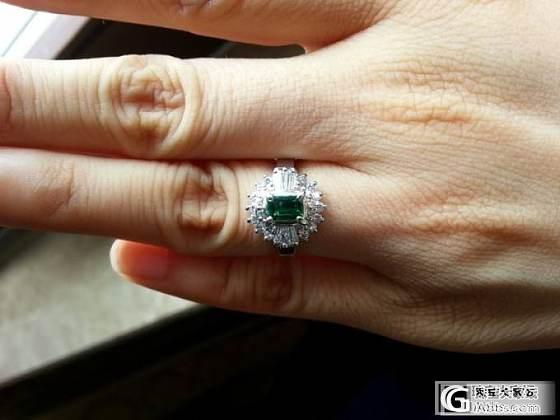 祖母绿小戒指到了_琳琅满目祖母绿