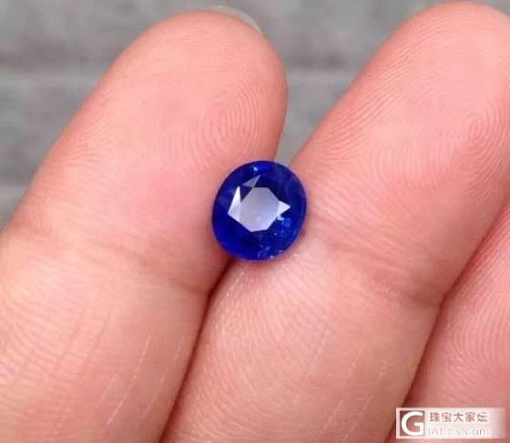 斯里兰卡无烧蓝宝石_刻面宝石蓝宝石