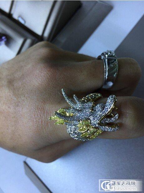今天看到的龙头戒指_戒指金