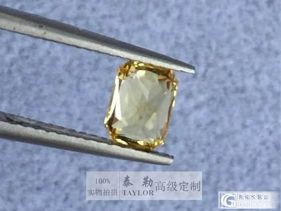 已秒售出【8.6日vivid yellow无烧黄色蓝宝石1.18ct】_泰勒珠宝