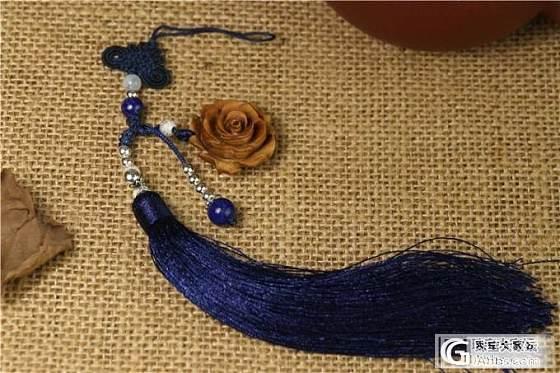 【稀饭香铺】 手工DIY精美老山檀香项链套装_文玩