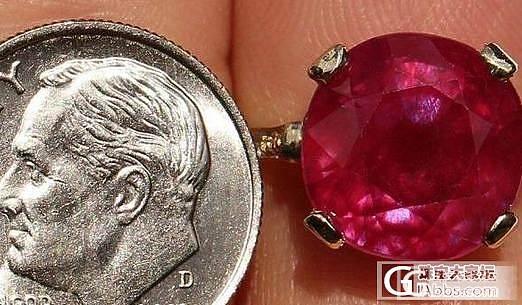 深夜一发红宝石给大家鉴赏一下!_红宝石