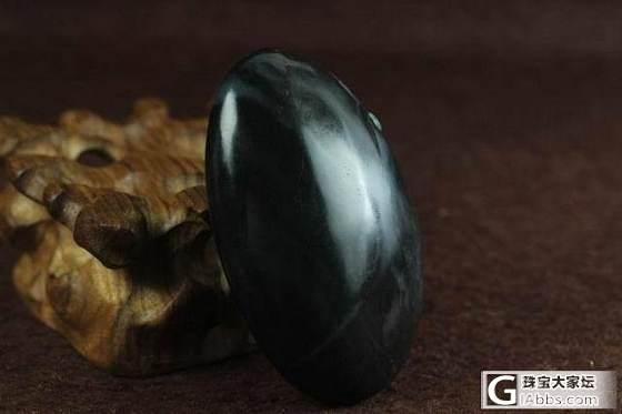 新疆和田玉籽料手把件保真支持复检青花墨玉籽料金玉满堂把件_传统玉石