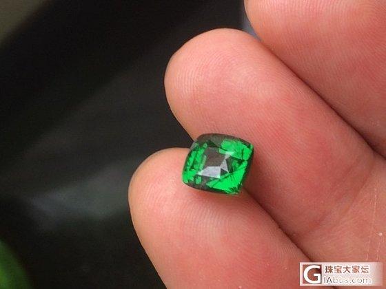 4卡祖母绿切割的沙沙就是漂亮_沙弗莱刻面宝石