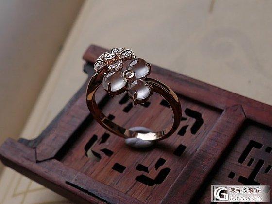 【十月】1.8-玻璃种花朵戒指,已上架~_十月花嫁翡翠