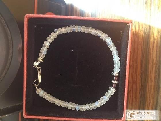 凑米了,4.5mm石榴石半成品一条,南红青金月光石都有,慢慢补链接,低价换米~_宝石