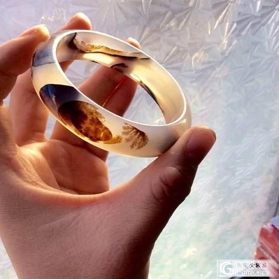 今天天气不错 晒晒我收藏的海洋玉髓5_手镯玉髓