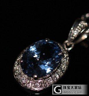 这个值得吗,蓝宝石总觉得贵了些啊_吊坠蓝宝石
