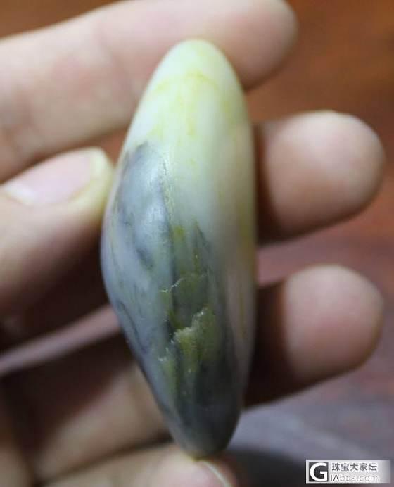 和田白玉【玉友园】83.5脂白青花_传统玉石