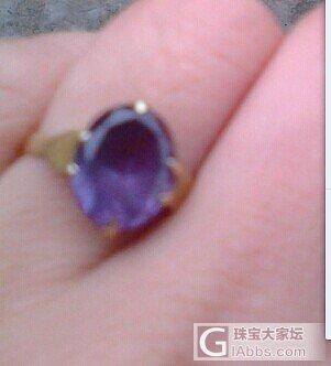 30年前妈妈买的蓝宝石戒指_戒指蓝宝石