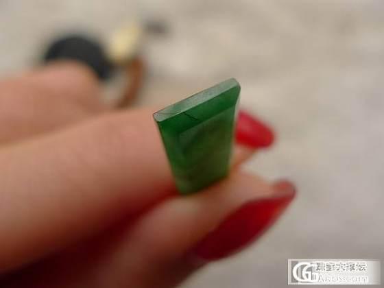 2015.3.3 翡翠挂件 蛋面 牌件府上有龙  便宜的绿_翡翠