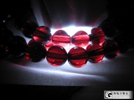 性价比极高的高品质8cm橙红石榴石手链,还有6的酒红珠珠团购啦!_莫桑石珠宝