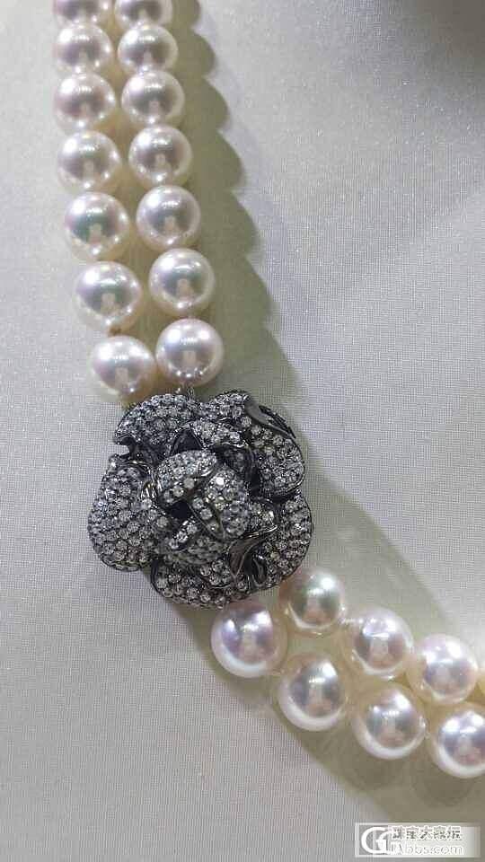 最是女人颈间香,淡漠悠然见南山_珠串珍珠