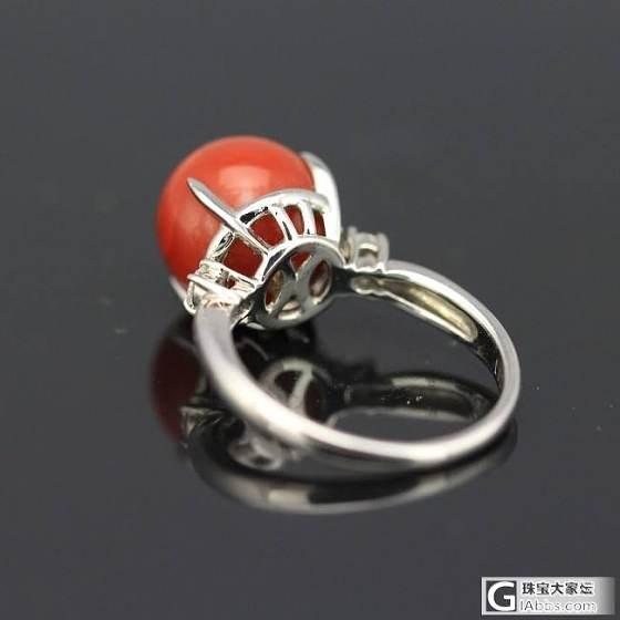 10.89mm珊瑚戒指。_悠然亭珠宝