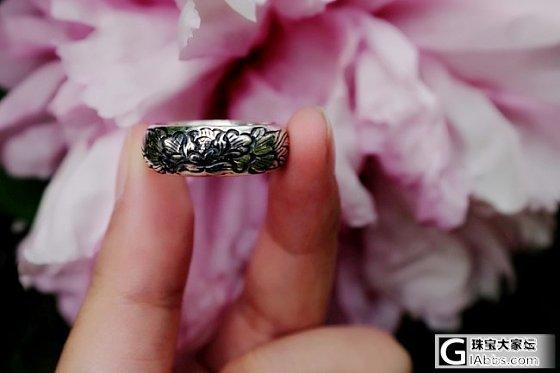 晒一下建工家美美哒国色戒指_戒指银