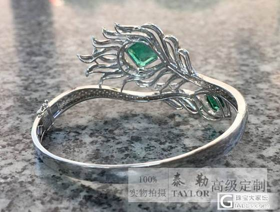 【泰勒珠宝】18K钻石超豪华镶嵌 顶级凤凰于飞祖母绿手镯 出货欣赏_泰勒珠宝