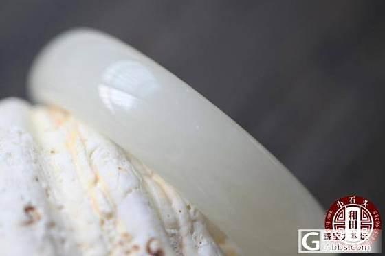 [May如玉]特一个价——最后一只脂白手镯克重83的胖胖圈口59_和田的小石头