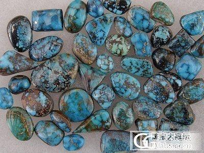 美国内华达州绿松石矿之----坎德拉里亚_松石