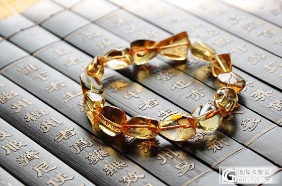 【三吋时光坊】不规则形黄水晶手链_宝石